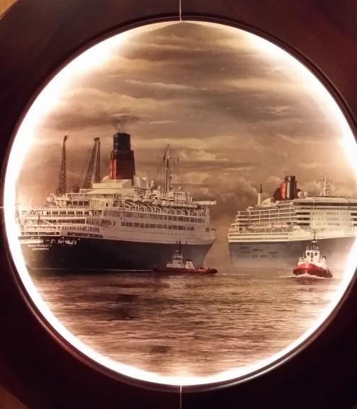 Cunard dronninger.  Foto: Cruise.no