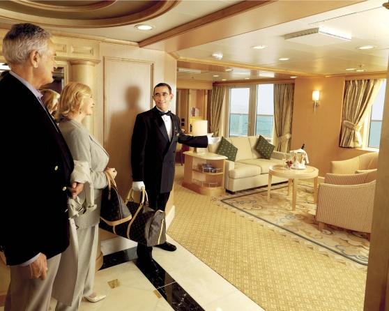 Grand Suite.  Foto: Cunard