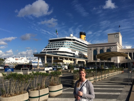 Cruiseterminal Napoli, Costa Serena