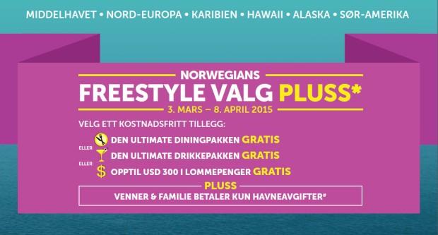 Norwegian Cruise Line kampanje