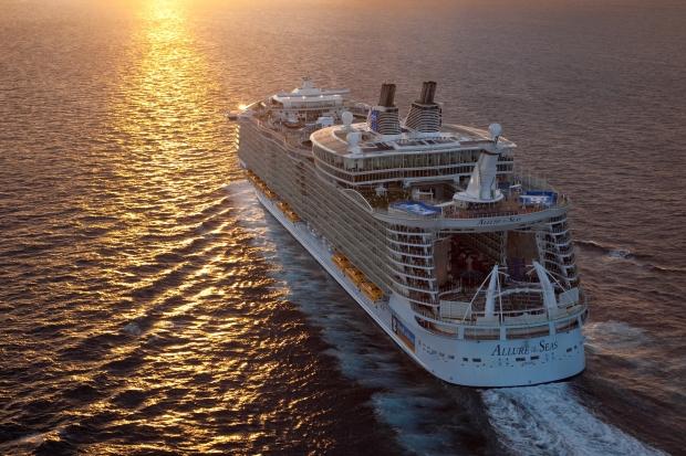 Cruise i Middelhavet Allure of the Seas, Royal Caribbean