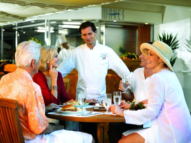 Waves Grill, Oceania Cruises