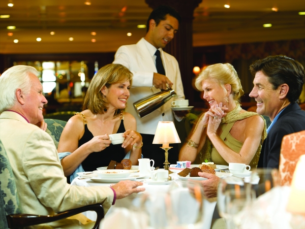 Grand Dining Room, Oceania Cruises.