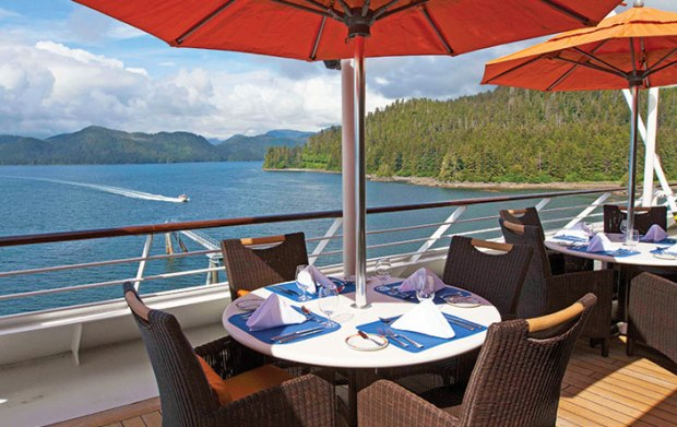 Terrace Café Nautica, Oceania Cruises