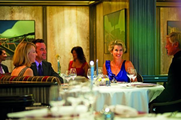 Seventeen Restaurant, Azura. Foto: P&O Cruises.