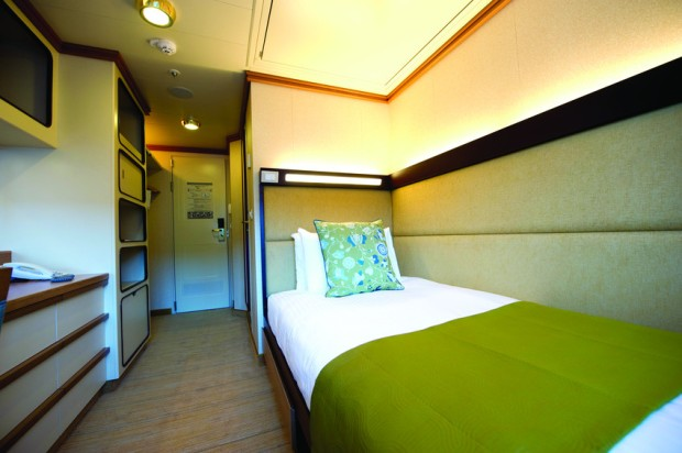 Singellugar Azura P&O Cruises