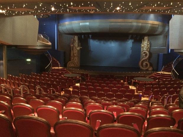 The Mainstage theater ms Eurodam