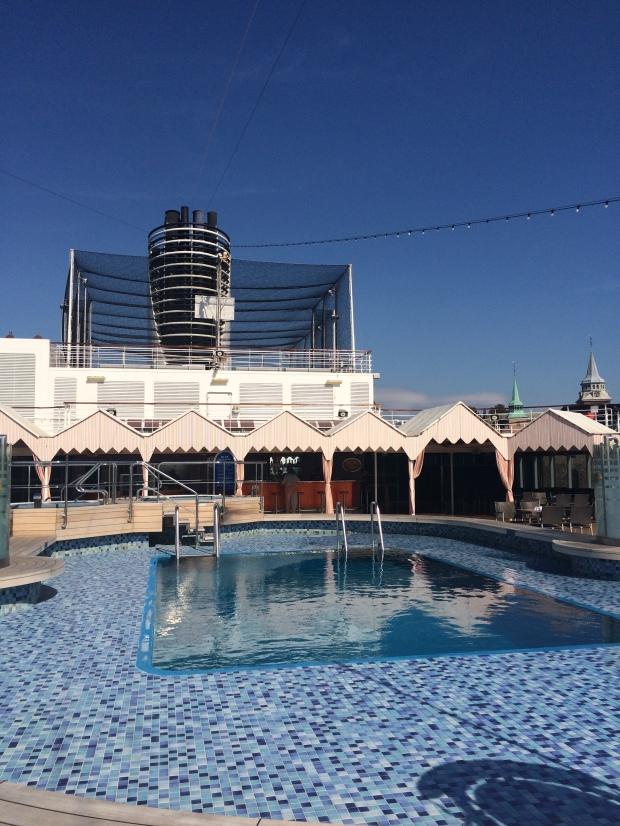 Sea View Pool, ms Eurodam