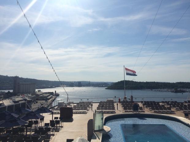 Sea View Pool ms Eurodam og Cruise.no Vippetangen