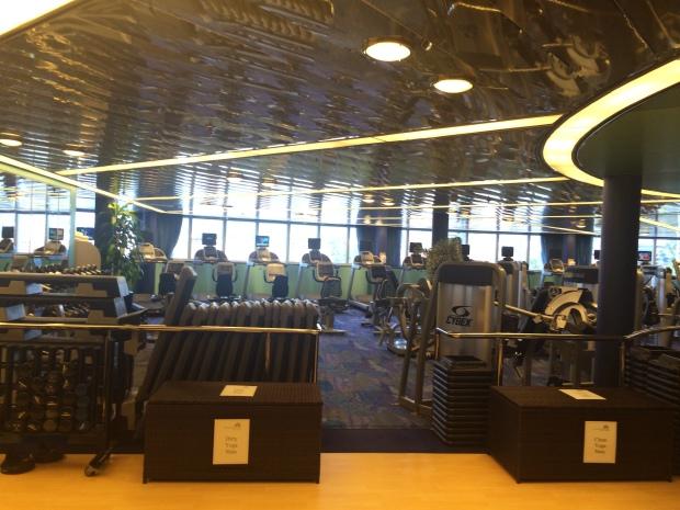 Gym ms Eurodam