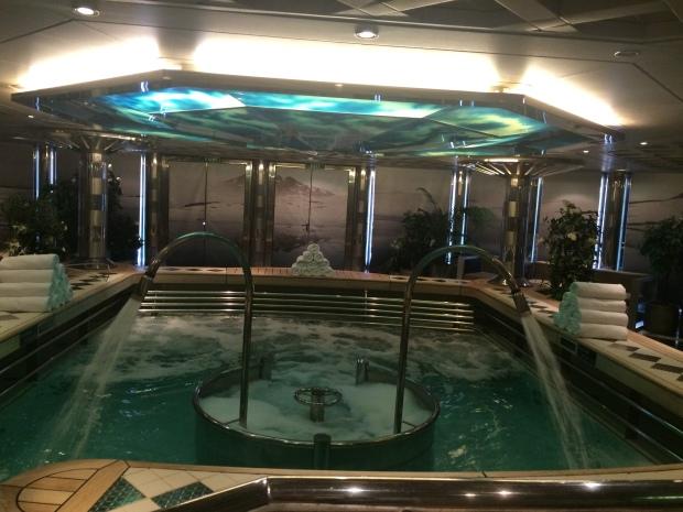 Hydro pool The Greenhouse Spa & Salon ms Eurodam