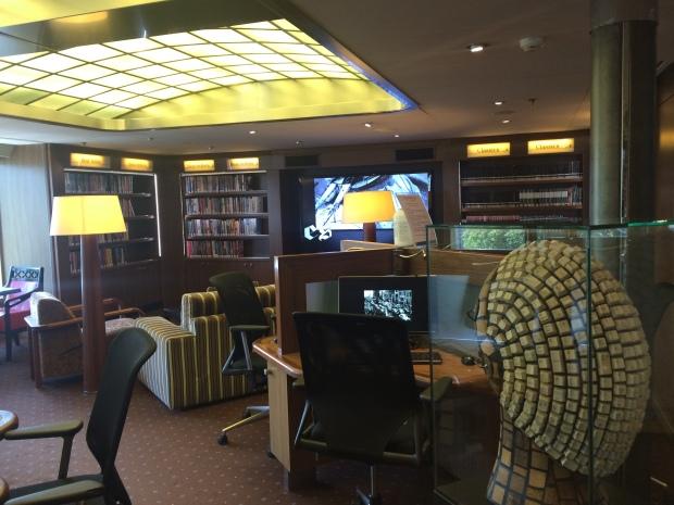 Explorations Café, ms Eurodam