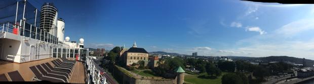 Panorama Eurodam Oslo