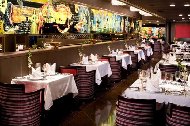 Pinnacle Grill ms Eurodam Holland America Lines restaurant