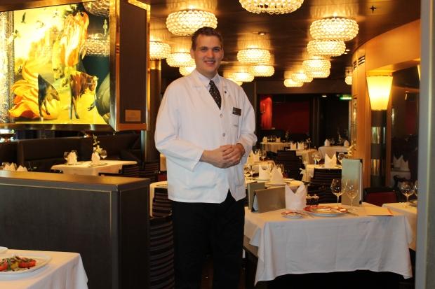 Eurodam restaurant