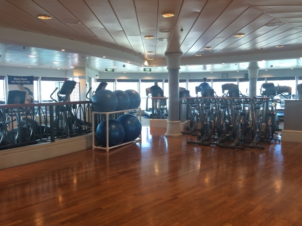 Serenade of the Seas gym treningsrom