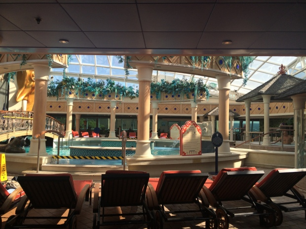 Solarium, Serenade of the Seas
