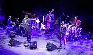 Gregory Porter med band. Foto: Knut Korsell