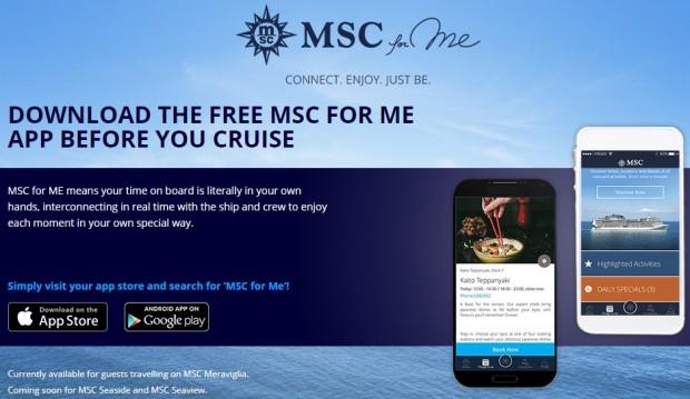 MSC for me app