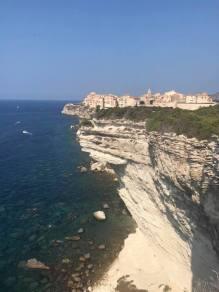 Linn på SeaDream - Bonifacio klippe