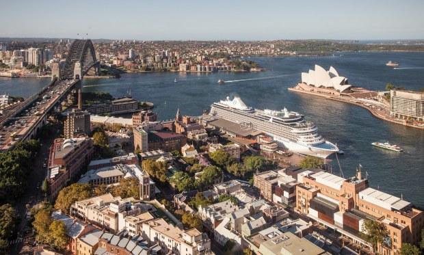 Oceania Cruises Marina i Sydney Australia