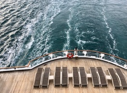 Bakdekket på Seabourn Ovation